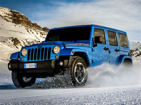2014 Jeep Wrangler Unlimited Polar (j-k) 4x4 G Wallpaper