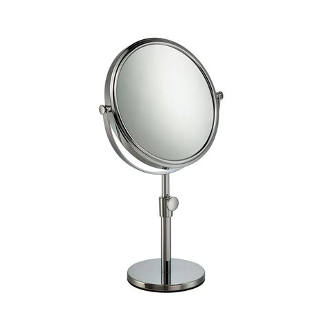 extending magnifying bathroom mirror mable extending height vanity bathroom mirror 10x 18259