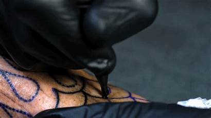 Tattoo Close Slow Motion Incredible Tattoos Artist