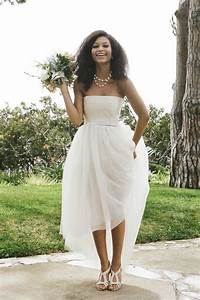 casual beach wedding dresses to stay cool modwedding With beach informal wedding dresses