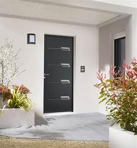 Tringle Porte D Entrée : porte d 39 entr e acier saya porte acier design zilten ~ Premium-room.com Idées de Décoration