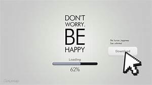 Don't Worry, Be Happy HD Wallpaper » FullHDWpp - Full HD ...