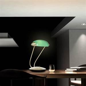 Led Beleuchtung Büro : 3watt led banker leuchte b ro tisch lampe schreibtisch beleuchtung gr n messing ebay ~ Markanthonyermac.com Haus und Dekorationen