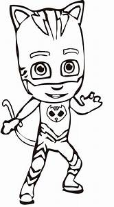 PJ Masks Coloring Pages Best Coloring Pages For Kids
