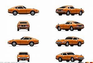 Datsun 240Z - Retro JDM