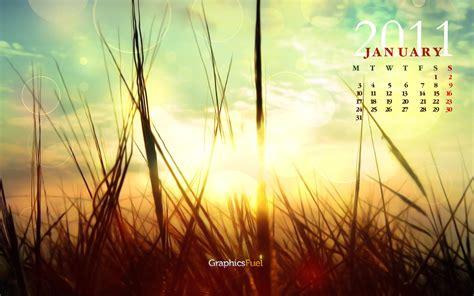 wallpaper calendar january   behance