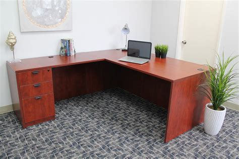 Product Of The Week A Desk L With A Mid Air Suspended Switch by Series 71 Inch Executive L Shape Corner Desk