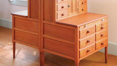 shaker furniture plans finewoodworking