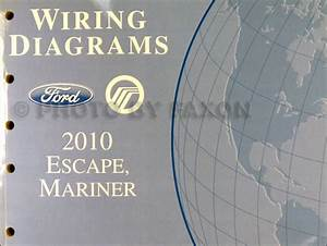 2006 Ford Escape Mercury Mariner Wiring Diagram Manual Original