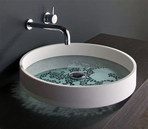 Unusual Bathroom Basins Motif And Kl By Omvivo Designer
