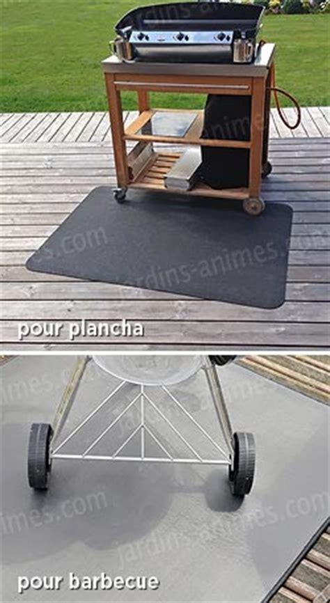tapis de protection de sols plancha et barbecue bras 233 ro