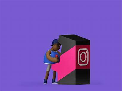 Animation Features Creating Gifs Behance Followers Studio