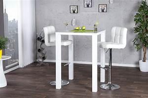 Stehtisch Weiß : trendiger stehtisch lucente 80cm wei bartisch bistrotisch ~ Pilothousefishingboats.com Haus und Dekorationen
