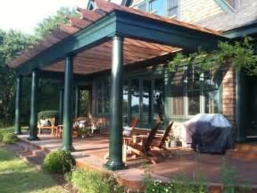 Deck with Pergola Design Ideas
