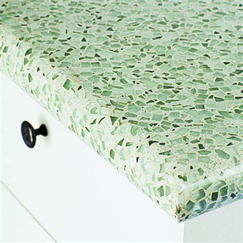 rolling kitchen island why you should opt for recycled glass countertops