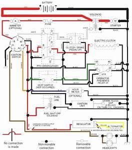 Wiring Diagram For Craftsman Gt5000  U2013 Powerking Co