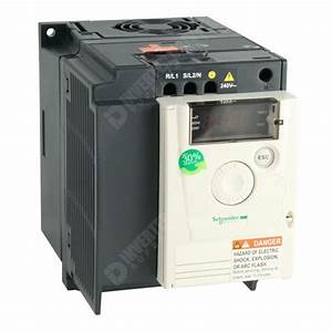 Schneider Atv12 Ip20 2 2kw 230v 1ph To 3ph Ac Inverter