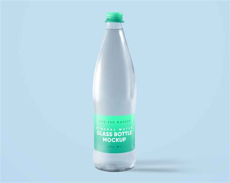 467 inspirational designs, illustrations, and graphic elements from the world's best designers. Mineral Water Glass Bottle PSD Mockup (Free) by Free PSD ...