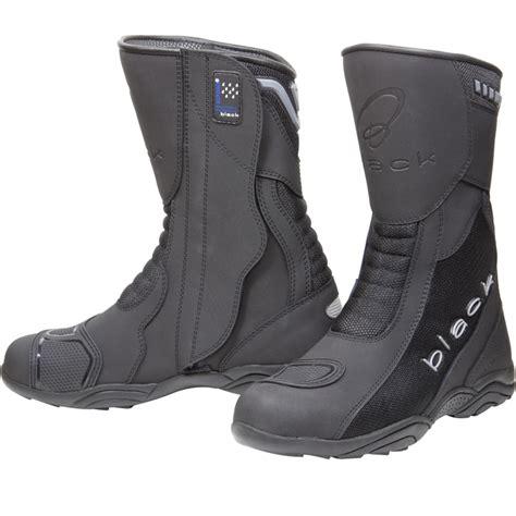 motorcycle in boots black strike waterproof sport racing motorcycle motorbike