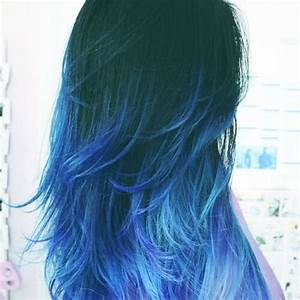 Blue is the Coolest Color: 50 Blue Ombre Hair Ideas | Hair ...