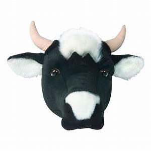 Tete De Vache Deco : d co murale enfant peluche t te vache bibib ma chambramoi ~ Melissatoandfro.com Idées de Décoration
