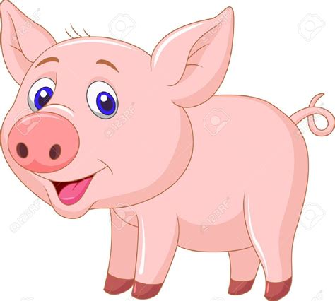 Pig Clip Baby Piglet Clipart Clipground