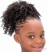 Cute Black Kids Hairstyles for Short Hair