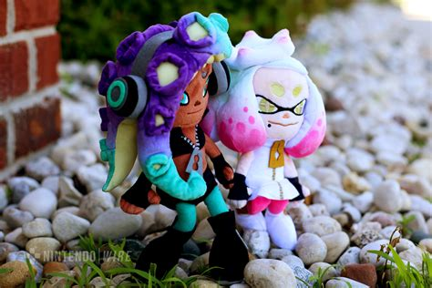 Gallery Splatoon 2 Marina And Pearl Plushes Nintendo Wire