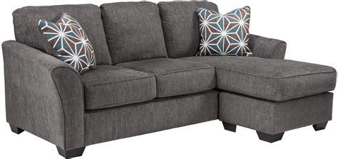 ashley brise slate sofa chaise dallas tx living room