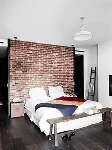 maison renovee de style industriel a ny picslovin With chambre style loft industriel