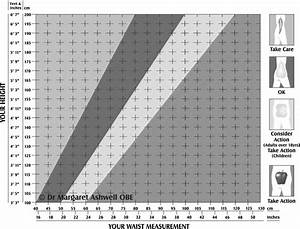 The Ashwell R Shape Chart Copyright Dr Margaret Ashwell