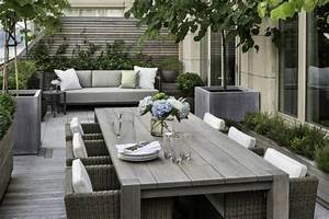 Aménager Une Terrasse : am nager une terrasse en bois kn88 humatraffin ~ Melissatoandfro.com Idées de Décoration