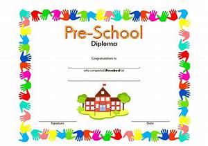 preschool certificate templates for graduation choice With pre k award certificate templates
