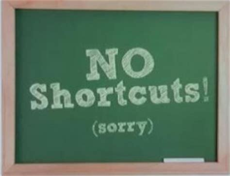 There Are No Shortcuts To Great Results  The Cooke Group, Llc
