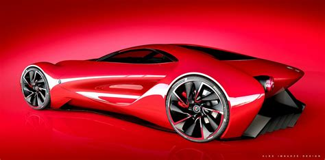 Alfa Romeo 6c Disco Volante Design Study Is An Italian