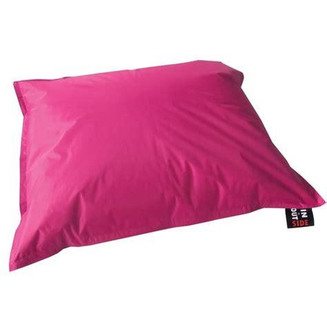 java pouf g 233 ant imperm 233 able 110x130 cm fushia achat vente pouf poire polyester enduit pvc