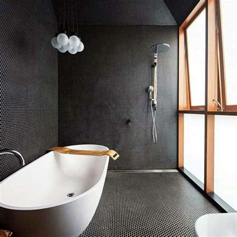 awesome bathroom ideas top 60 best black bathroom ideas interior designs