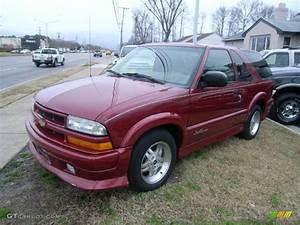 2003 Dark Cherry Red Metallic Chevrolet Blazer Xtreme