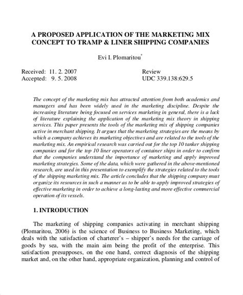 concept proposal examples samples   examples