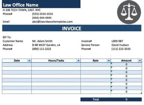 lawyer receipt template printable receipt template