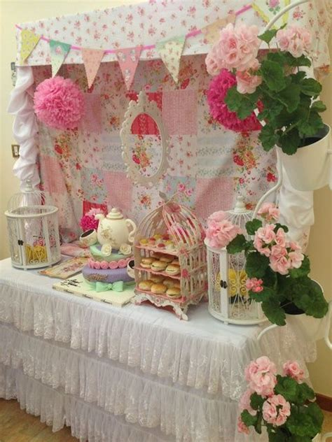 shabby chic cornwall english afternoon tea birthday party ideas cornwall birthday tea parties and wedding