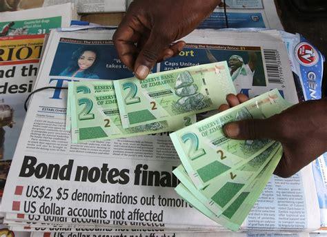 zimbabwe prints  mil  bond notes   limit  herald enca