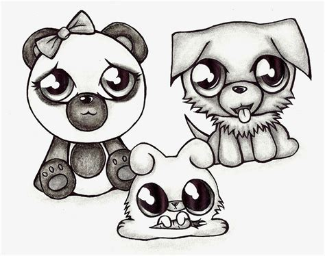 Cute Anime Drawings Animals Cute Anime Animal Drawings 11 ...