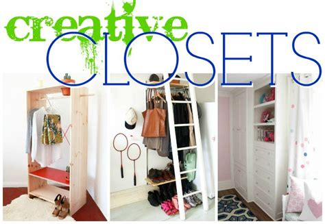 creative closet solutions remodelaholic 14 creative closet solutions to organize and add storage space