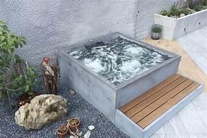 Whirlpool 2 Personen Outdoor : dade design beton whirlpool concrete jacuzzi ~ Sanjose-hotels-ca.com Haus und Dekorationen