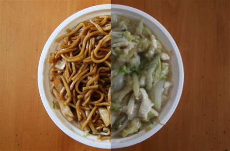 difference between chow mein and lo mein chow mein versus lo mein youtube