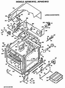 Ge Jkp40g K2 Electric Wall Oven Parts