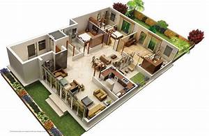 31 awesome villa floor plan 3d images plan pinterest With 3d home plans imposing design