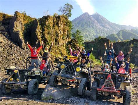 wisata jeep lava  merapi  lengkap  harga
