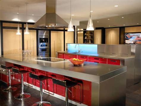 stainless steel kitchen designs stainless steel countertops pictures ideas from hgtv hgtv 5724